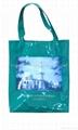 PVC tote bag,shopping bag white color,ladies tote bag promotion