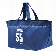 Polyester shopping bag large capacity, promotion shopping bag