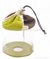 Fashion PVC drawstring b