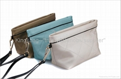 Quilted clutch bag,quilted coin wallet