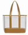 2012 Latest ladies' mesh tote bag