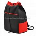 Leisure Sport bag-Waterproof drawstring backpack