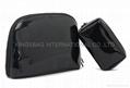 Vinyl PU clutch bag, makeup bag,travel