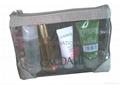 Vinyl PU clutch bag, makeup bag,travel cosmetic bag