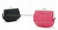 High Grade Business Gift cotton&jute cosmetic bag set/makeup bag series