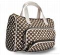 Protable hand-held travel cosmetic bag,toiletry  bag