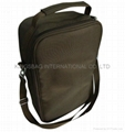 Polyester wine insulated cooler bag,wine cooler bag with adjustable strap