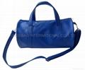 Fashion PVC leather travel bag, duffle bag,mens travel bag