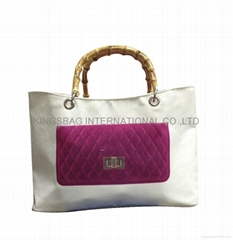 Fashion tote bag, ladies tote bag, polyester shopping bag