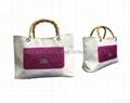 Fashion tote bag, ladies tote bag, polyester shopping bag