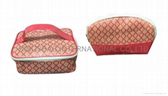 Fashion PP woven cosmetic bag, makeup bag, fashion beauty promotional bags