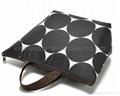 Microfiber ladies tote bag ,fashion