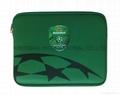 Neoprene IPAD Case green color w/thermal transfer printing,Neoprene IPAD cover