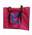 300D polyester ladies fashion tote bag