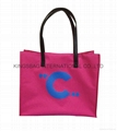 Beauty ladies shopper bag with silkscreen