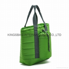 210D nylon quilted Insulated cooler bag,promotional cooler bag quilted,tote bag