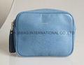 Women's beauty PU handbag lizard design,Ladies small handbag