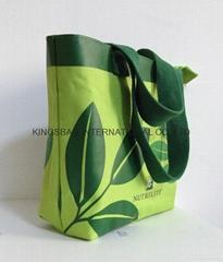 600D polyester shopper bag,small tote bag, promotional gift bag