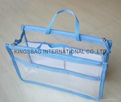 Transparent PVC storage bag