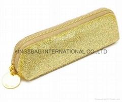 Gold Glitter PVC pencil