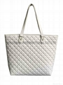 PU quilted ladies fashion bag white color,PU quilted fashion ladies bag