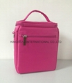 300D polysester insulated cooler bag with  adjustable strap
