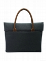 High quality polyester laptop bag for