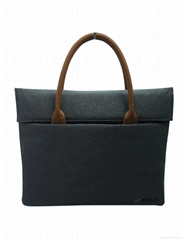 High quality polyester laptop bag for mac,apple laptop bags.