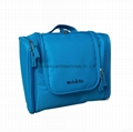 600D polyester hanging toiletry bag