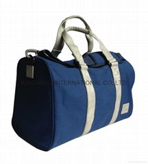 Men's canvas travel bag,canvas weekend duffel bag,canvas sports bag