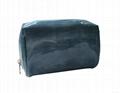 Shiny PU cosmetic bag,fashion beauty imitation leather PU ladies cosmetic bag,