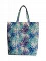 Fashion polyester beach bag,ladies beach bag,waterproof polyester shopper