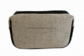 Deluxe jute/pu woven small size men's