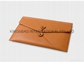 Synthetic leather PU envelope clutch bag