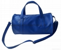 Synthetic leather PVC weekend duffel bag