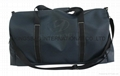 Oversized synthetic leather PVC travel  duffel bag, large size travelling bags