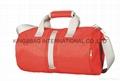Nylon outdoor cylinder duffel bag
