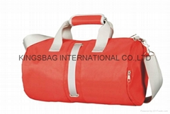 Nylon outdoor cylinder duffel bag,outdoor nylon weekend travelling duffel bag