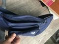 600D polyester waist bag dark blue colour