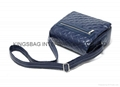 PU quilted ladies shoulder bag,PU quilted ladies handbag with long strap