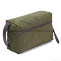 Washed polyester men's travel toiletry bag ,men's organizer bag