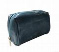 Varnish shiny PU small cosmetic bag