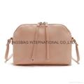 Synthetic leather ladies shell shape shoulder bag,cross body bag,ladies handbag