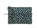 Canvas small clutch purse bag ,canvas small clutch cosmetic bags