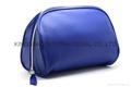 Navy PU unisex cosmetic bag,makeup bag,unisex travel cosmetic bags