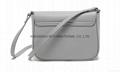 Faux leather PU lady leisure shoulder handbag cross body handbag