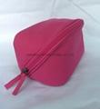 Unique design canvas cosmetic storage bag,makeup bag