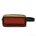 840D nylon/mesh portable travel cosmetic