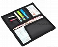 Polyester black card holder,polyester passort holder purse