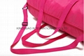 Polyester waterproof travel bag,polyester overnight bag